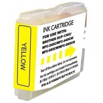 CARTUCHO COMPATIBLE BROTHER LC-1000 Y / LC-970 Y