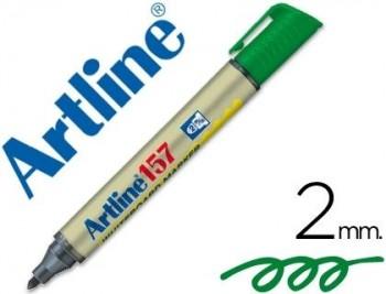 ROTULADOR ARTLINE PIZARRA EK-157 VERDE COD 22098