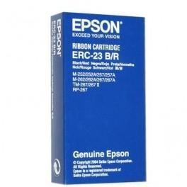 CINTA EPSON ERC-23B/R NEGRO/ROJO ORIGINAL C43S015362