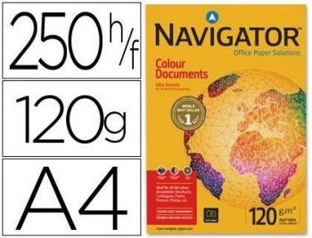 P/ PAPEL 250 H. DIN A4 NAVIGATOR COLOUR DOCUMENTS 120 GRS COD. 28316